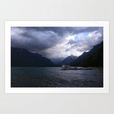 Lake McDonald in Glacier National Park Art Print