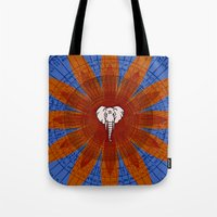 om Tote Bags featuring Om by emscrazy8