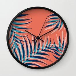 Palms Vision III #society6 #decor #buyart Wall Clock