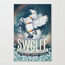 Soutwest Gay & Lebian Film Festival Poster 2016 Canvas Print