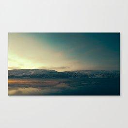 Almost Frozen Canvas Print