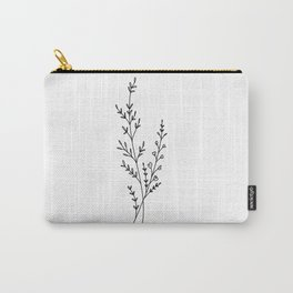 Tiny Wildflowers Carry-All Pouch