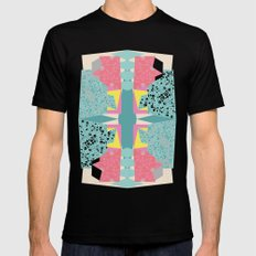 Paper Layer Mens Fitted Tee Black MEDIUM