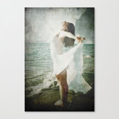 She was made of the Sea Canvas Print