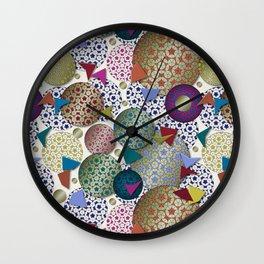 Penrose Tiling Inspiration Wall Clock