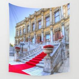 Ciragan Palace Istanbul Red Carpet Wall Tapestry
