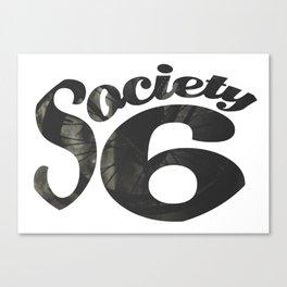Society 6 Wheel T - S6 Tee Canvas Print