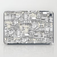 champagne iPad Cases featuring NOTTINGHAM CHAMPAGNE by Sharon Turner