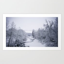 In the Dead of Winter Art Print
