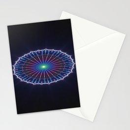 Farris Wheel Mandala Abstract Stationery Cards