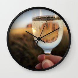Cheers to Uluru Wall Clock