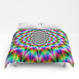 Psychedelic Explosion Comforters