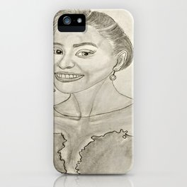 Issa Rae by Ryan Reynolds iPhone Case