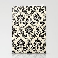 damask Stationery Cards featuring Damask by MJ Lira Photography