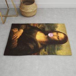 Mona Lisa Bubble Gum Rug