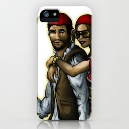 Klepto and Hoops iPhone Case
