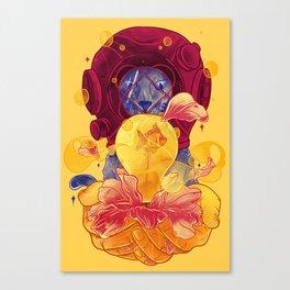 La Lumiere (Yellow) Canvas Print