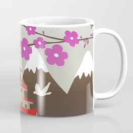 Japanese Pagoda Coffee Mug