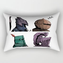Lordran dark days Rectangular Pillow