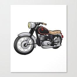 Beautiful motorcycle Canvas Print
