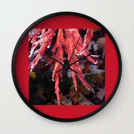 Japanese Maple Wall Clock