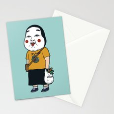 Joyful Girl Stationery Cards