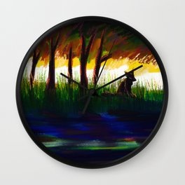 to still waters Wall Clock