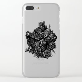 Rubik's World Clear iPhone Case
