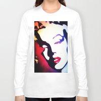 monroe Long Sleeve T-shirts featuring monroe  by Joedunnz