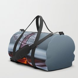 Red liquid Mushroom waterdrop 6737 Duffle Bag