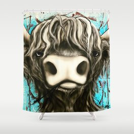 Highland Cow #1 Shower Curtain