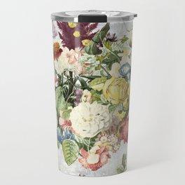 A Flowering Flourish, spring, burgeon, burst! Travel Mug
