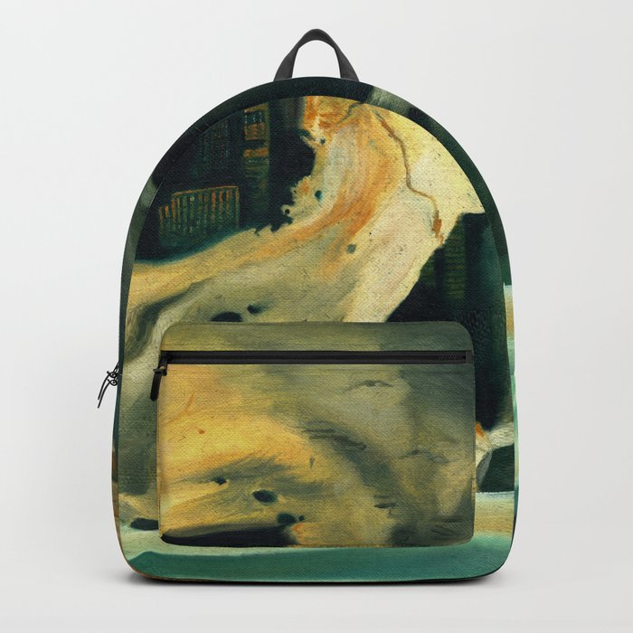 Civilizations Oil Painting Backpack