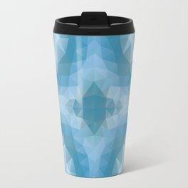 Mozaic design in soft blue colors Travel Mug