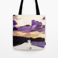 bride Tote Bags featuring Bride by Chris Baily