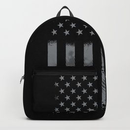 Fisher Fishing US Flag Backpack