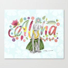 ALOHA WEIM Canvas Print