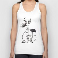 alice in wonderland Tank Tops featuring Wonderland by lesinfin