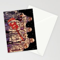 Astronauts with Guitar Stationery Cards