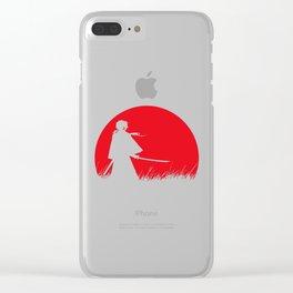 Samurai X Clear iPhone Case