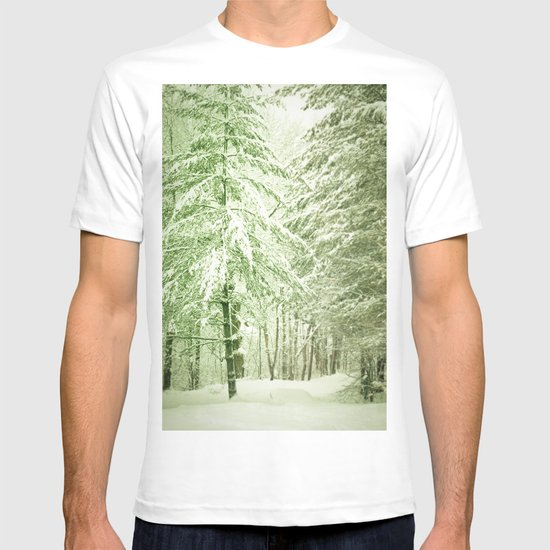 Winter Pine Trees T-shirt