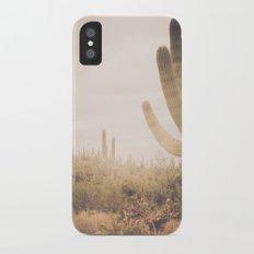 Saguaro Sunrise Slim Case iPhone X