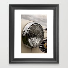 Vintage Car 11 Framed Art Print