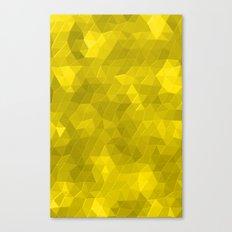 Kaleidoscope Series Yellow Canvas Print
