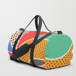 color segments 003 Duffle Bag