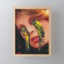 Reverse cry Framed Mini Art Print