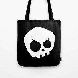 Mischievous Skull Tote Bag