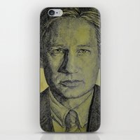 mulder iPhone & iPod Skins featuring Mulder  by Jenn