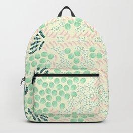 Symmetrical foliage Backpack