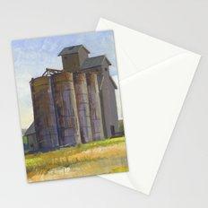 SILO, Montana Travel Sketch by Frank-Joseph Stationery Cards